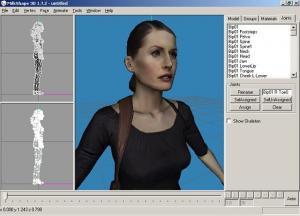 MilkShape 3D 1.8.4 - náhled