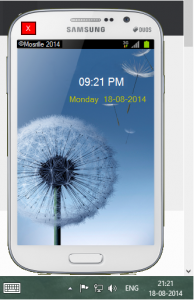 Galaxy Grand Talking Clock 1.1 - náhled