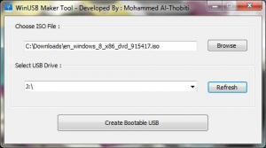 WinUSB-Maker 1.0 - náhled