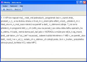Diktáty 1.0.8.0 - náhled
