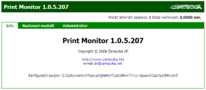 Print Monitor 1.1.9 - náhled