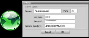 DropFTP 0.17 - náhled