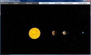 Model Sluneční soustavy 0.6 - náhled