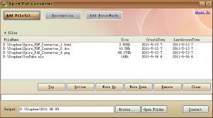 Spire Free PDF Converter 1.0.8 - náhled