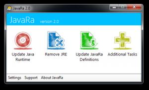 JavaRa 2.6 - náhled