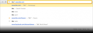Yandex Browser 17.7.0.1544 - náhled