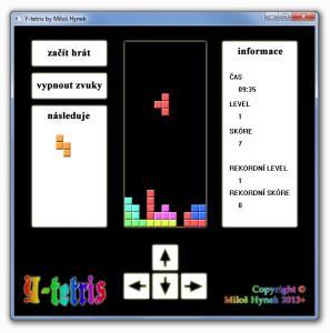 Y-tetris 1.0 - náhled