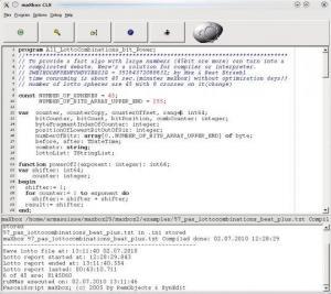 maXbox 4.5.8.10 - náhled