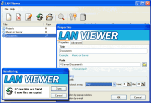 LAN Viewer 2.1 - náhled