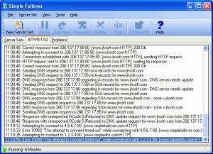 Simple Failover 1.21 - náhled