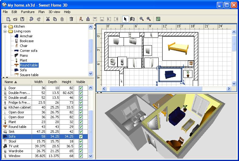 Swell Sweet Home 3D Ihned Zdarma Ke Stazeni Slunecnice Cz Download Free Architecture Designs Lukepmadebymaigaardcom