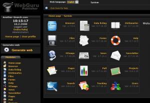 WebGuru Publisher CMS 2.0.6 - náhled
