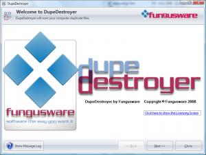 DupeDestroyer 0.17.0 Beta 5 - náhled