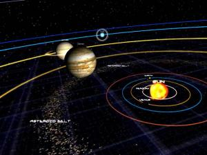 Solar System 3D Screensaver 1.4 - náhled
