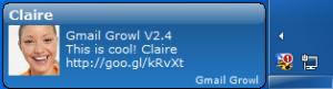 Gmail Growl 2.4 - náhled