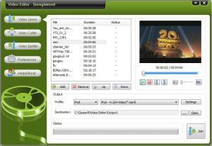 Oposoft Video Editor 7.7 - náhled