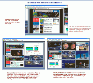 Browse3D 3.5 - náhled