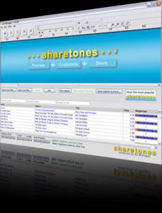 Sharetones 2.00 - náhled