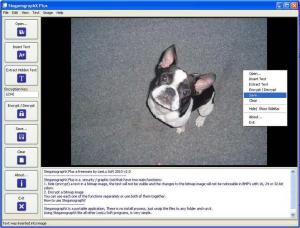 SteganographX Plus - náhled