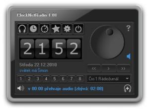 ClockNetRadio - Multifunkční radiobudík 1.17 FREE - náhled
