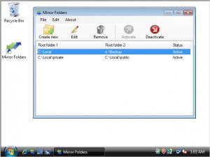 Mirror Folders 1.03 - náhled