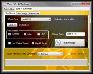 7Burn Portable 2.0 - náhled
