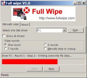 Full Wipe 1.0 - náhled