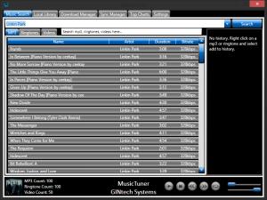 MusicTuner 8.0.0.4 - náhled
