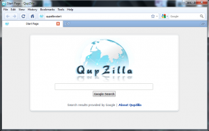 Qupzilla Portable 2.2.1 - náhled