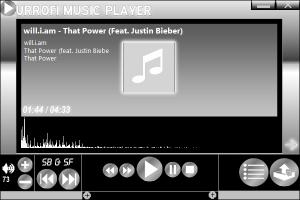 Urrofi Music Player 1.2 - náhled