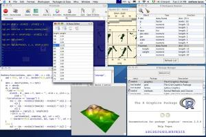 R for Windows 3.3.1 - náhled