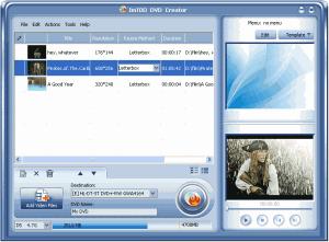 ImTOO DVD Creator 7.0 - náhled