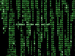 YZ Matrix Screen Saver 1.00 - náhled