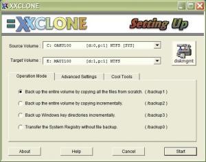 XXCLONE 2.08.8 - náhled