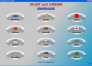 Play And Learn English - náhled