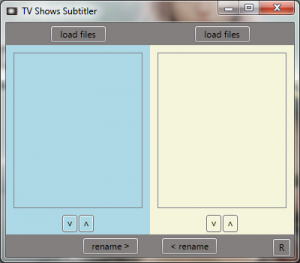 TV Shows Subtitler 1.0.0.0 - náhled