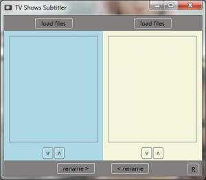 TV Shows Subtitler 1.0.0.0 - náhled