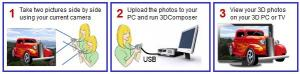 3DComposer 2.23 - náhled
