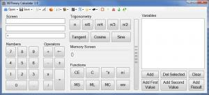 VBTheory Calculator 4.2 - náhled