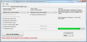 SSD Tweaker 3.7.0 - náhled