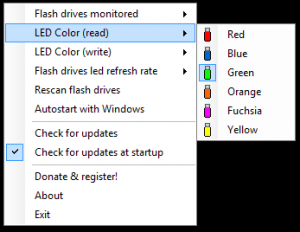 My Flash Drive LED 1.20 - náhled