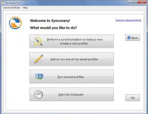 Syncovery 7.87 - náhled