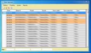 Laboratoř - fakturace 1.0.0.8 - náhled