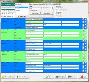JídelnaSQL Lite 1.5.23 - náhled