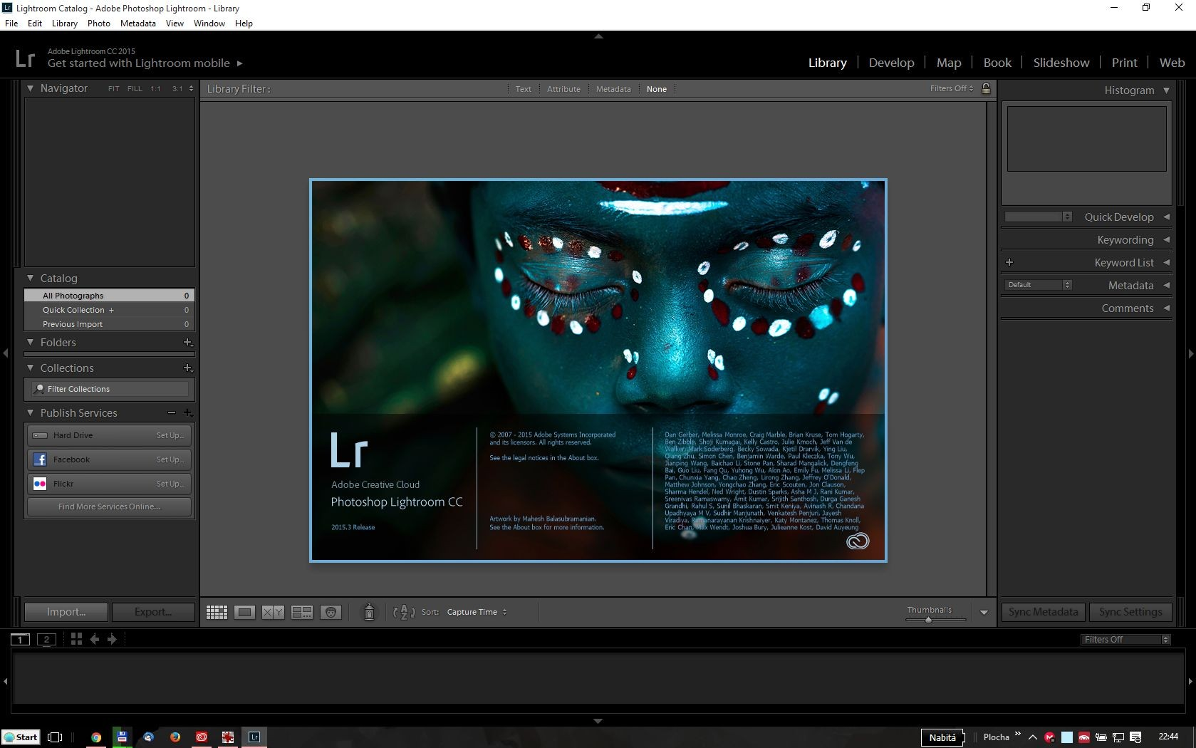 Adobe Photoshop Lightroom 6.0 - MP ENG COM - 1 licence
