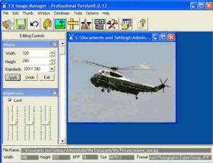 Fx Image Manager 8 - náhled