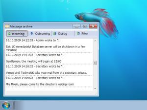 WinSent Messenger 2.0 beta 4 - náhled