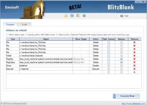 BlitzBlank 1.0 Beta - náhled