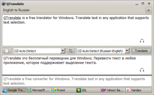 QTranslate 6.3.1 - náhled
