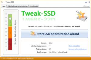 Tweak-SSD 2.0.3 - náhled